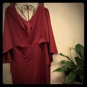 Dresses & Skirts - Wine color body forming dress